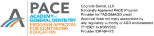 Upgrade Dental PACE CE logo 070121-063022